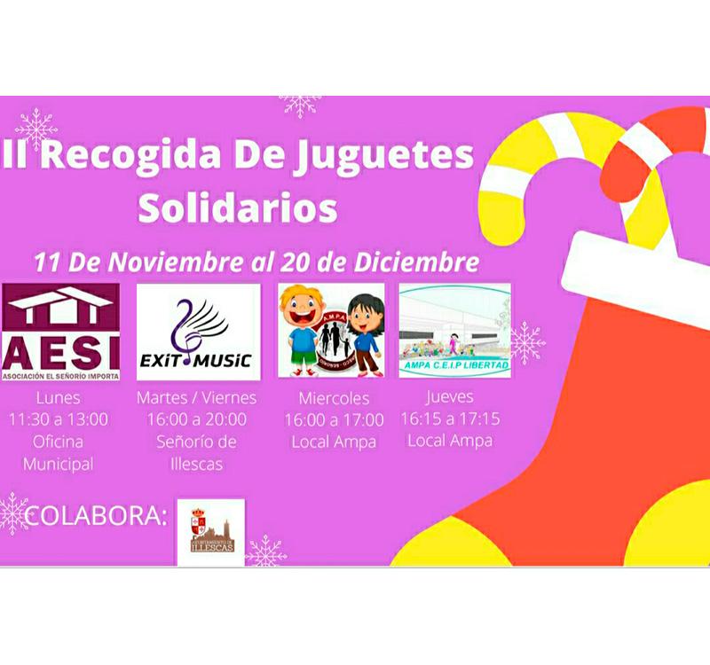 II Recogida de Juguetes Solidarios