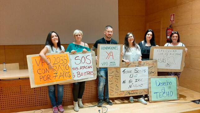 Crean la Plataforma de Afectados por desalojos en VPO del Señorio de Illescas